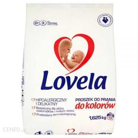 Nowy LOVEL hipoalergiczny do prania kolor 1.62kg dla niemowląt
