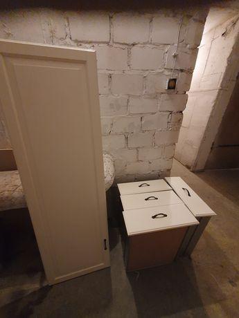 Szuflady i front szafki pax 50x6x236