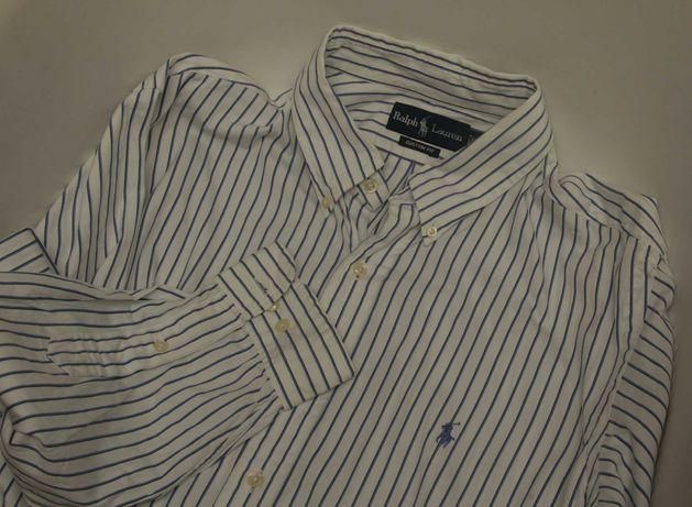Polo Ralph Lauren рр 17 1/2 XL-XXL рубашка их лопка 2-ply