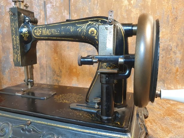 Máquina de costura séc XIX , Peça Rara