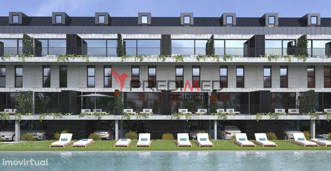 Apartamento T2 Novo c/ 89.5m2 em OFIR. Condomínio Fechado