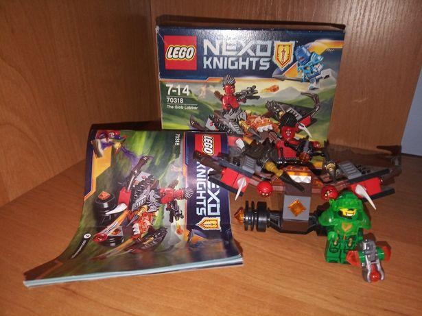 LEGO 70318 nexo katapulta