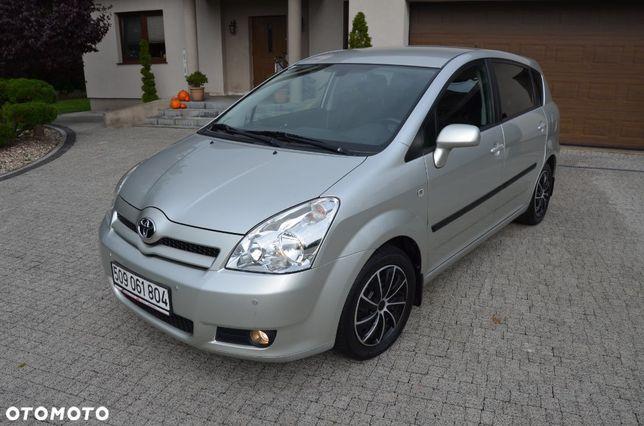 Toyota Corolla Verso Piękna 100% Bezwypadkowa, mały przebieg, 1.6 16v benzynka !!!