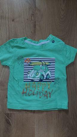 Zestaw koszulki chłopiec 62 68