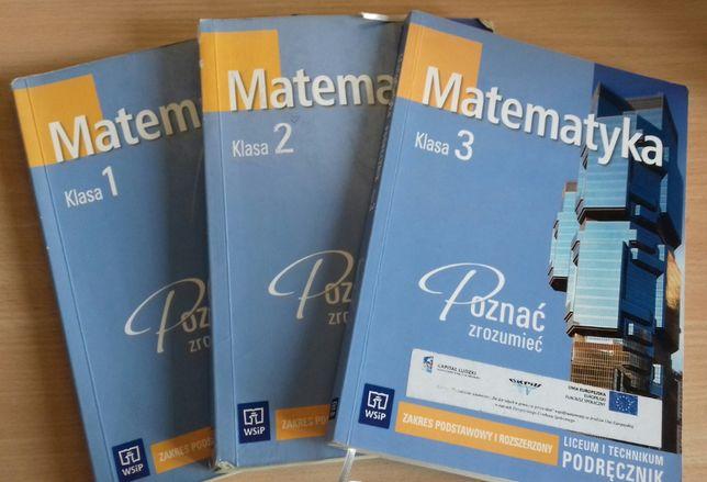 Matematyka Liceum - 3 Podręczniki