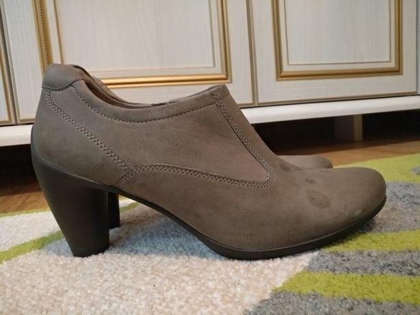 Туфли Ecco кожа р. 40, ст. 26 см.