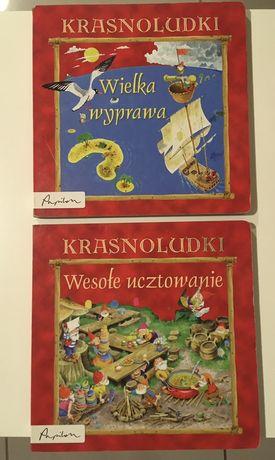 Książka x2 Krasnoludki: Wielka wyprawa, Wielkie ucztowanie.