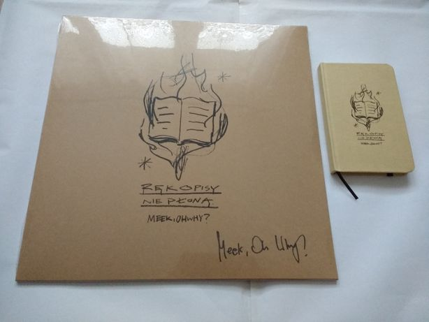 Meek, Oh Why? - Rękopisy nie płoną 1LP + notes LTD