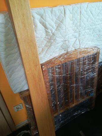 Łóżeczko drewniane 120x60 cm