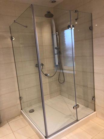 Kabina prysznicowa 120 x 120 szklana