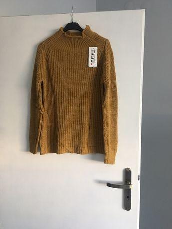 Włoski sweterek - półgolf