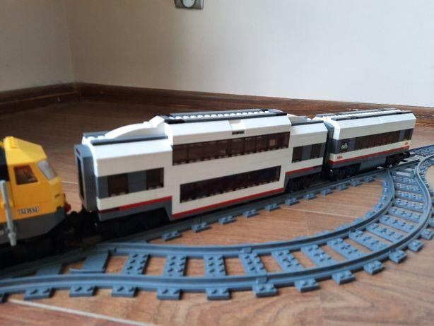 Lego City Pociag Train Wagon Pietrowy MOC 60051,7938,60197,7939 MIX KG