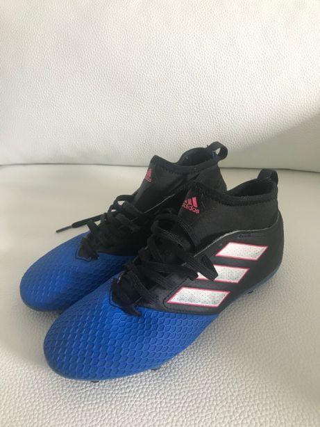 MChuteira adidas Ace 17.3 Primemsh Fg Football Azul/preta