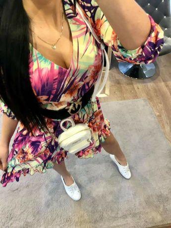 Sukienka kolorowa