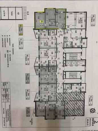 ЖК Эврика 25 дом 2к Квартира 58 кв метров