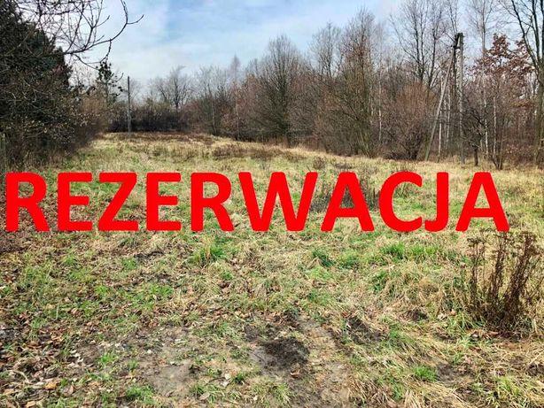 Rezerwacja Sprzedam działkę budowlaną 2587 m2 łuków śląski kolejowa