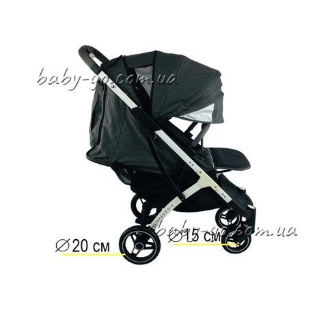 Yoya plus-4-2021.pro.2020.3.йойа плюс.детская прогулочная коляска темн