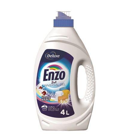 Гель для прання Deluxe Enzo Ензо 2в1 100пр/4л. Роздріб.Гурт.