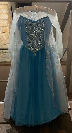 Suknia kostium Elsa Kraina lodu