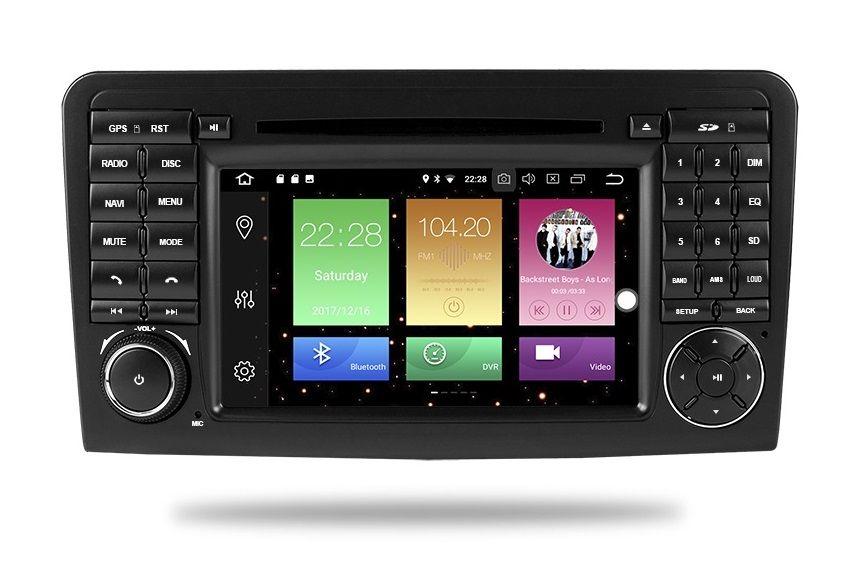 RADIO Mercedes ML GL ANDROID 9.0 4GB DVD W164 X164 - Nawigacja PL 24h Inowrocław - image 1