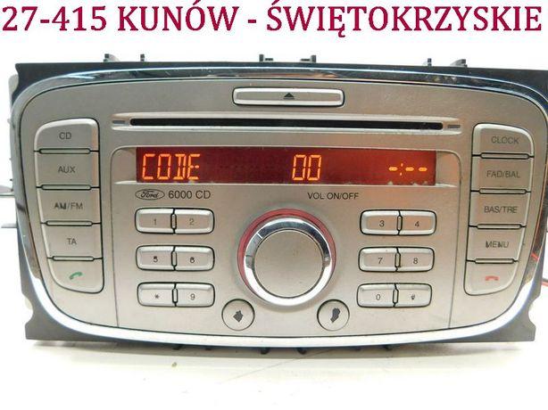 Radio CD Ford S-Max Mondeo MK4 Galaxy III fabrycznne 8S7T-18C815-AC