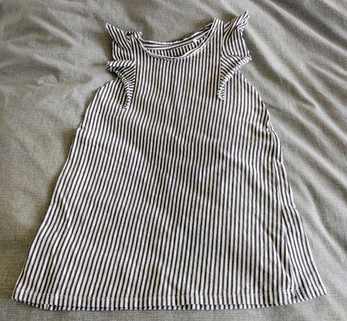 Reserved sukienka z organicznej bawelny rozmiar 104