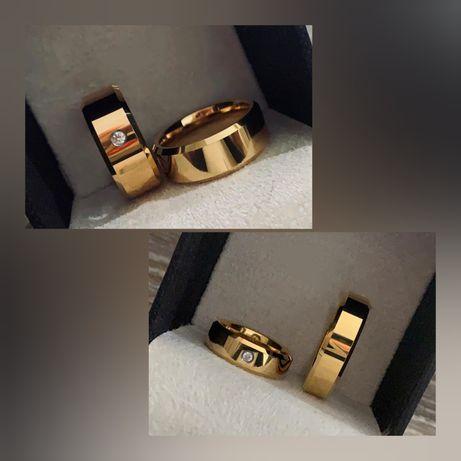 Przepiękne Komplety Złotych Obrączek Ślubnych