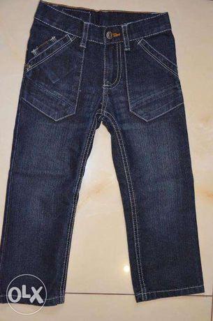 Spodnie chłopięce jeans LUPILU rozm. 98