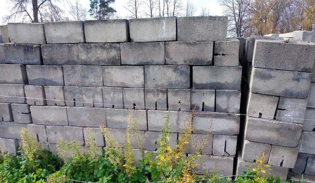 cegła betonowa 25x25x50cm ok. 40kg dostępne ok. 500 sztuk