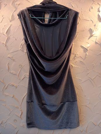 Велюрове коротке плаття/платья/сукня
