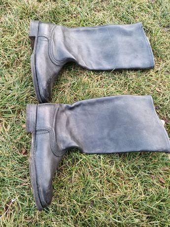 Buty skórzane oficerki