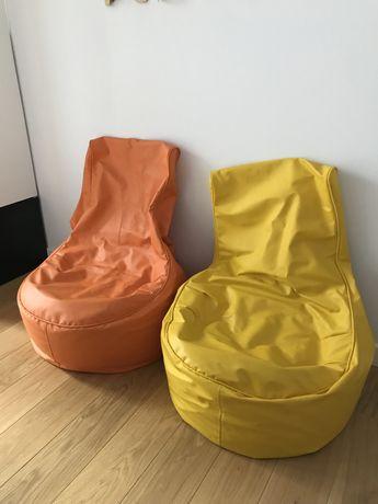 pufy / fotele dla dziecka - 2 szt
