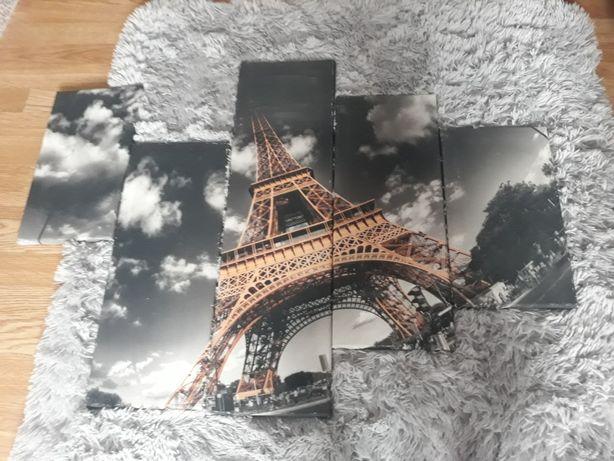 Obraz Paryż na płótnie