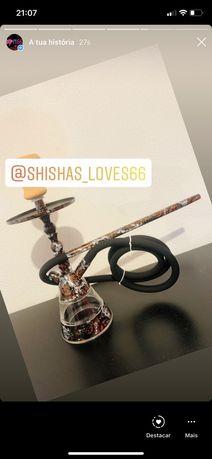 Shishas novas para entrega imediata