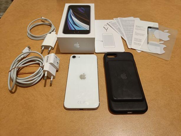 Apple iPhone SE 2 2020 + Apple Smart Battery Case + Anker Zestaw BDB