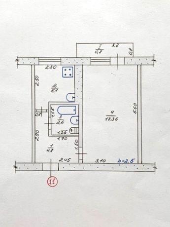 Однокомнатную квартира (1-К, 1 комнатная)