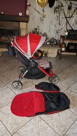 Baby jogger city mini wózek spacerowy dużo akcesoriów