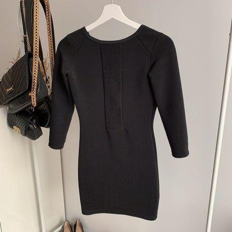 Mała czarna krótka obcisła sukienka