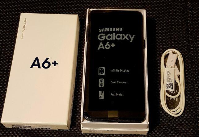 smartfon GALAXY A6+ black samsung