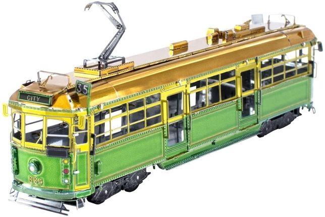Металлическая сборная 3D модель Melbourne Wclass TramМельбурнский трам
