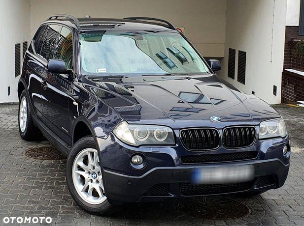 BMW X3 Xdrive 2.0diesel 177km automat navigacja xenon paktronic bezwypadkowa
