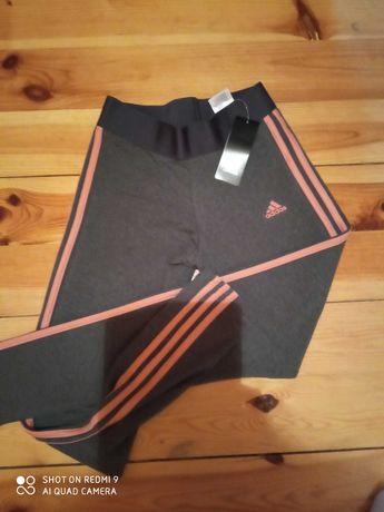 leginsy spodnie dres adidas rozm.S