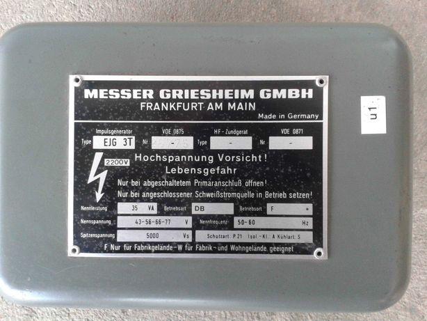 Transformator wysokiej częstotliwości z spawarki