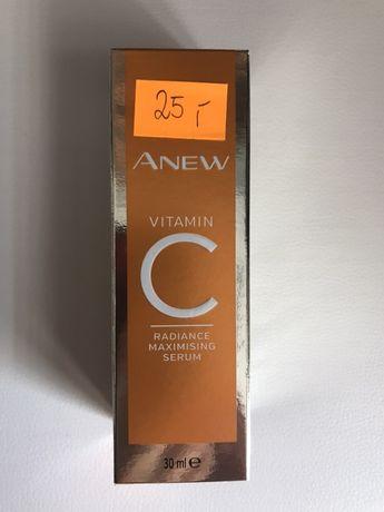 Rozswietlajaco odmladzajace serum do twarzy z witamina C