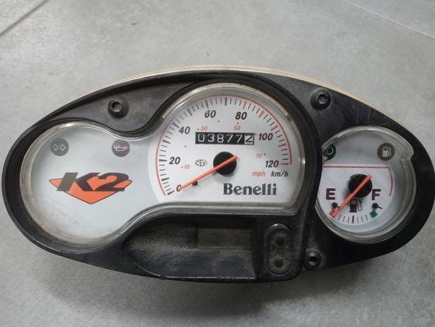 Benelli K2 licznik zegar prędkościomierz