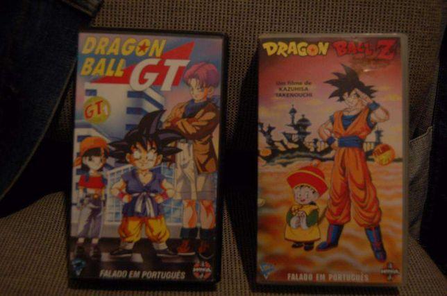 VHS dragon ball Z e dragon ball GT