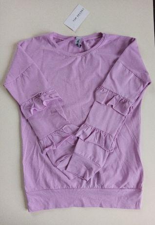 Nowa bluzka z falbankami XS