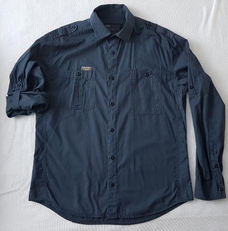 Koszula granatowa NeXt L