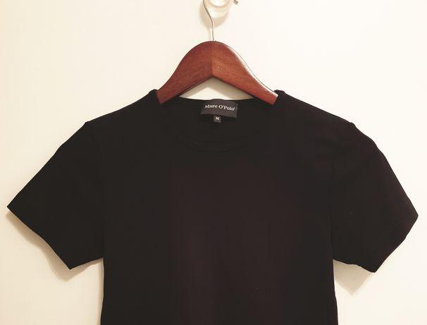 czarny T-shirt damski M podkoszulek Marc O'Polo