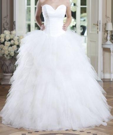 Suknia ślubna typu PRINCESSKA. POLECAM!
